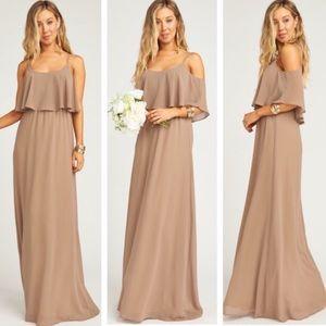 Show Me Your MuMu • Caitlin Ruffle Maxi Dress